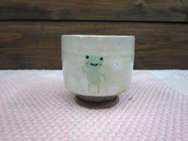 かえるのご飯茶碗と湯呑 その3
